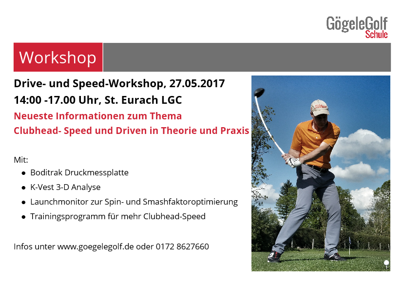 Drive und Speed Workshop, Boditrak, K-Vest, Launchmonitor